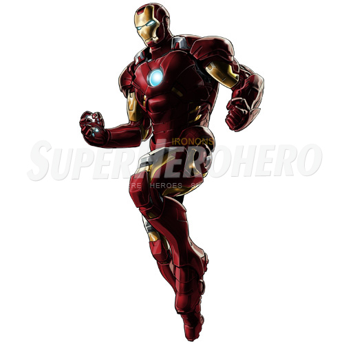 Designs Iron Man Iron on Transfers (Wall & Car Stickers) No.4567