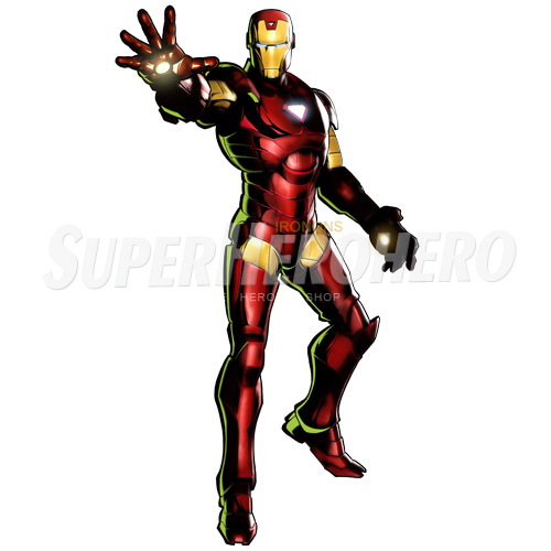Designs Iron Man Iron on Transfers (Wall & Car Stickers) No.4574