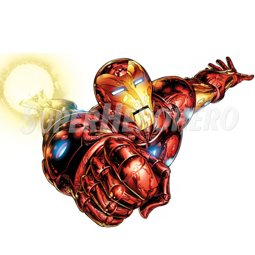 Designs Iron Man Iron on Transfers (Wall & Car Stickers) No.4578