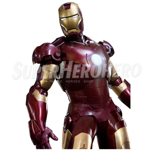 Designs Iron Man Iron on Transfers (Wall & Car Stickers) No.4580