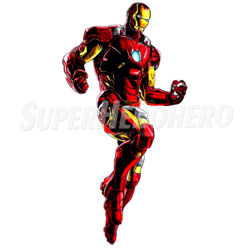 Designs Iron Man Iron on Transfers (Wall & Car Stickers) No.4583