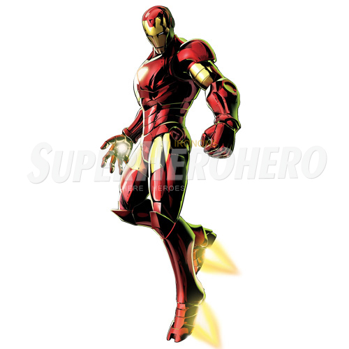 Designs Iron Man Iron on Transfers (Wall & Car Stickers) No.4586