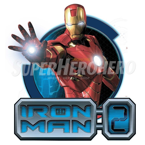 Designs Iron Man Iron on Transfers (Wall & Car Stickers) No.4592