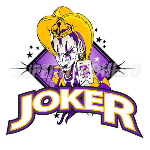 Designs Joker Iron on Transfers (Wall & Car Stickers) No.5012