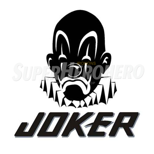 Designs Joker Iron on Transfers (Wall & Car Stickers) No.5013