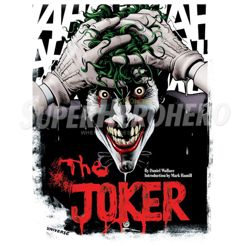 Designs Joker Iron on Transfers (Wall & Car Stickers) No.5015