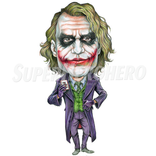 Designs Joker Iron on Transfers (Wall & Car Stickers) No.5016