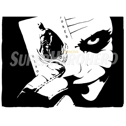2 designs joker iron on transfers wall car stickers no 5027