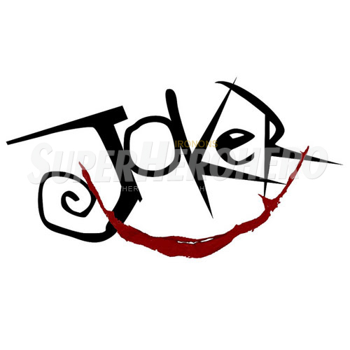 2 designs joker iron on transfers wall car stickers no 5028