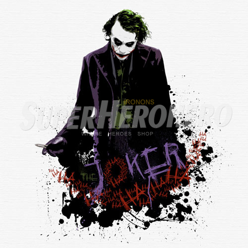 Designs Joker Iron on Transfers (Wall & Car Stickers) No.5029
