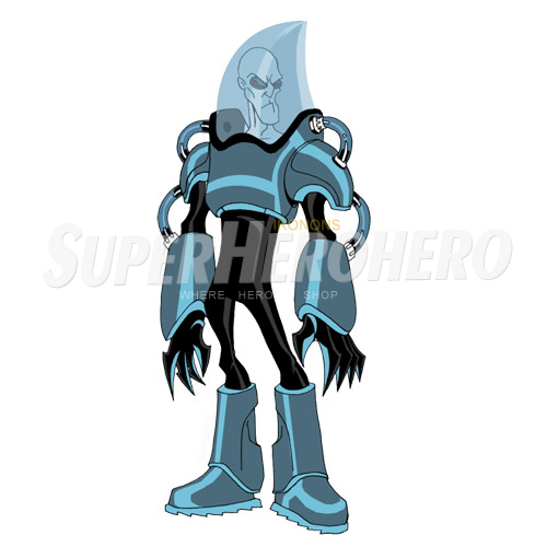 Custom Mr Freeze Iron on Transfers (Wall & Car Stickers) No.7672