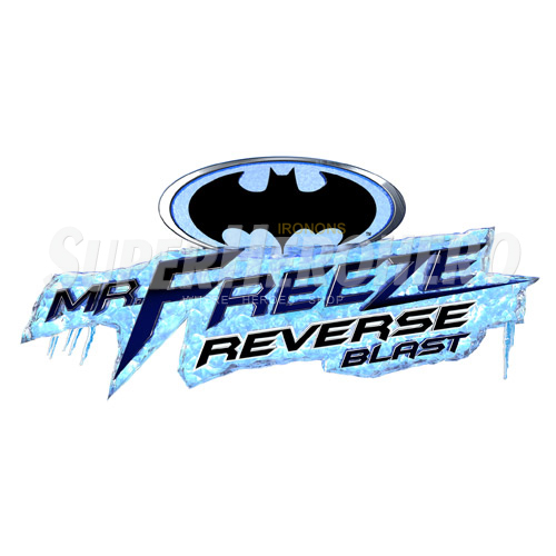 Custom Mr Freeze Iron on Transfers (Wall & Car Stickers) No.7673