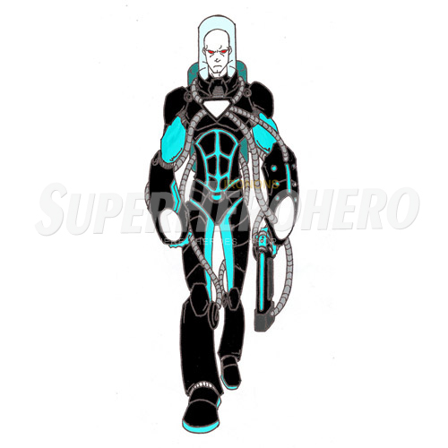 Custom Mr Freeze Iron on Transfers (Wall & Car Stickers) No.7675