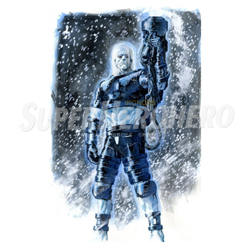 Custom Mr Freeze Iron on Transfers (Wall & Car Stickers) No.7676