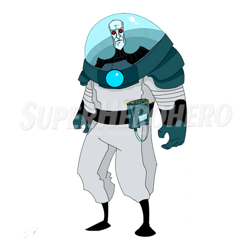 Custom Mr Freeze Iron on Transfers (Wall & Car Stickers) No.7677