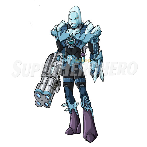 Custom Mr Freeze Iron on Transfers (Wall & Car Stickers) No.7678