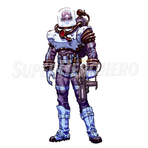 Custom Mr Freeze Iron on Transfers (Wall & Car Stickers) No.7682