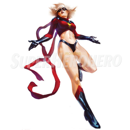 Custom Ms.Marvel Iron on Transfers (Wall & Car Stickers) No.6491
