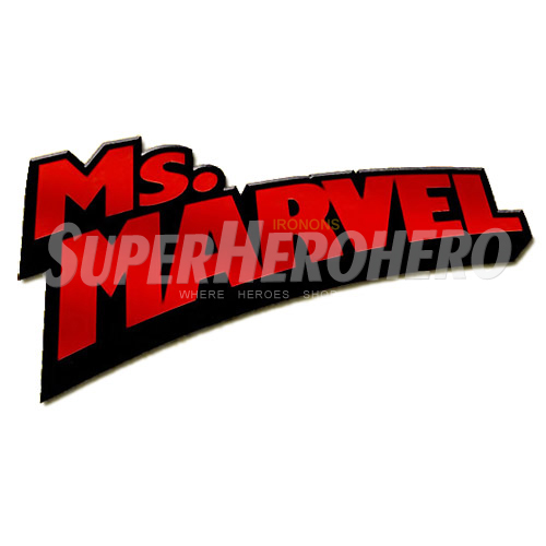 Custom Ms.Marvel Iron on Transfers (Wall & Car Stickers) No.6492