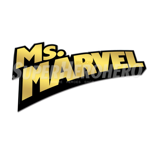 Custom Ms.Marvel Iron on Transfers (Wall & Car Stickers) No.6503