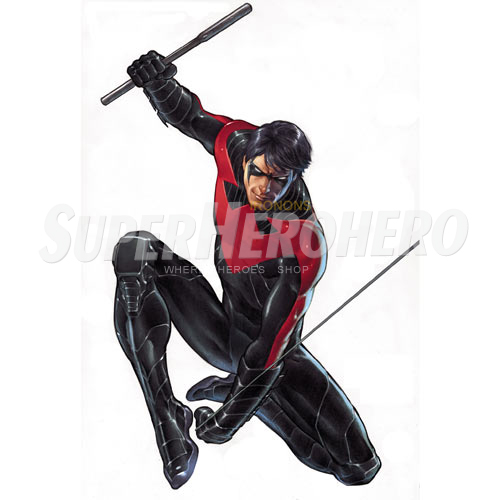 Designs Nightwing Iron on Transfers (Wall & Car Stickers) No.5051