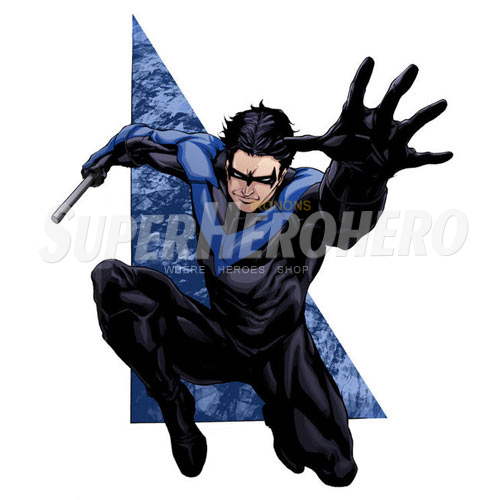 Designs Nightwing Iron on Transfers (Wall & Car Stickers) No.5054
