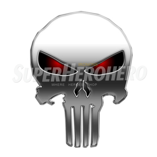 Designs Punisher Iron on Transfers (Wall & Car Stickers) No.5079