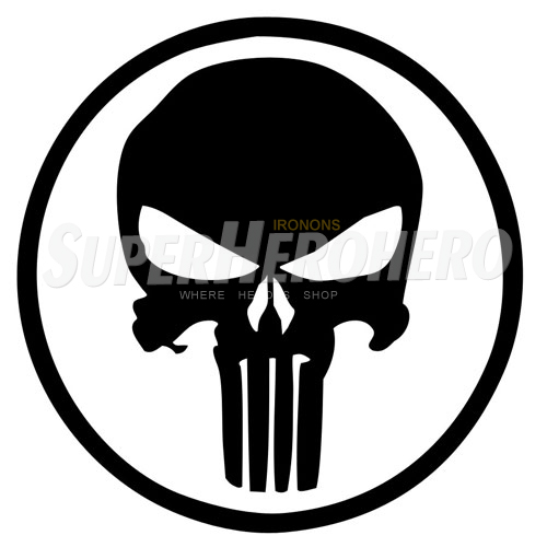 Designs Punisher Iron on Transfers (Wall & Car Stickers) No.5080