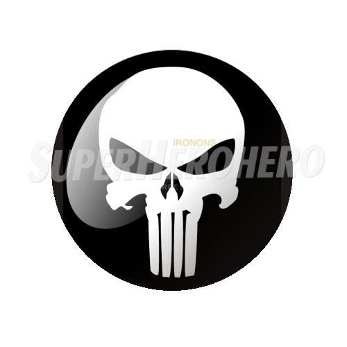 Design Punisher Iron on Transfers (Wall & Car Stickers) No.5082