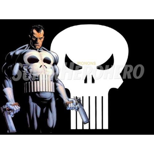 Design Punisher Iron on Transfers (Wall & Car Stickers) No.5083