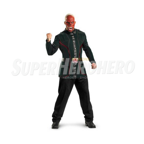 Custom Red Skull Iron on Transfers (Wall & Car Stickers) No.7704