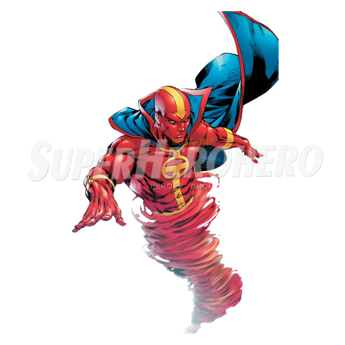 Custom Red Tornado Iron on Transfers (Wall & Car Stickers) No.7684