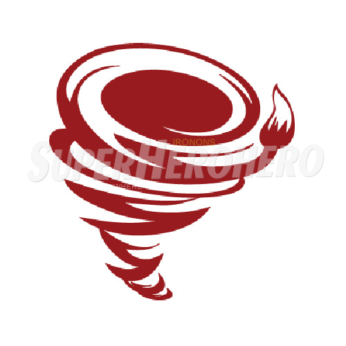 Custom Red Tornado Iron on Transfers (Wall & Car Stickers) No.7694