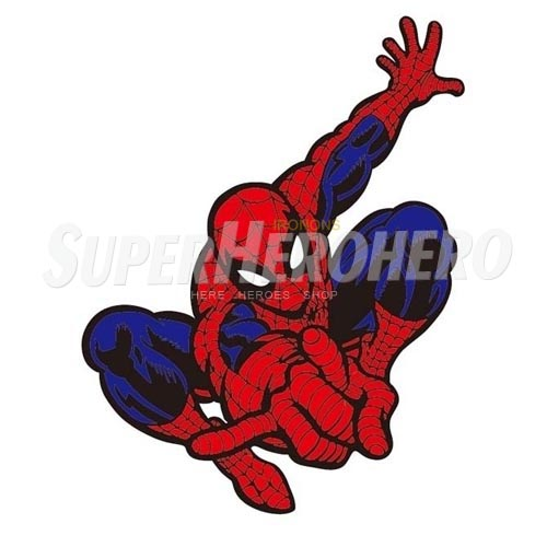Designs Spiderman Iron on Transfers (Wall & Car Stickers) No.4595