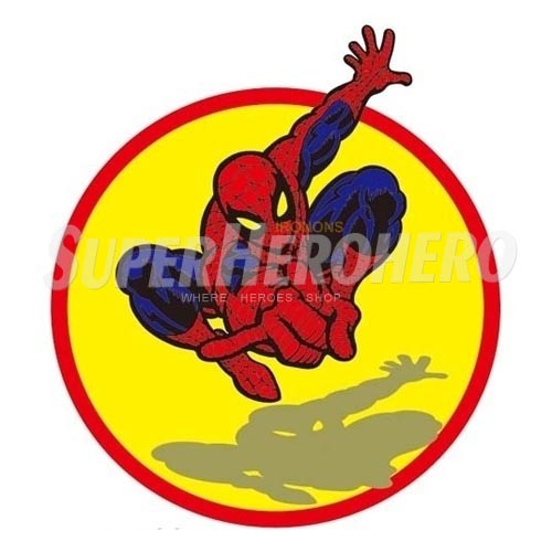 Designs Spiderman Iron on Transfers (Wall & Car Stickers) No.4597