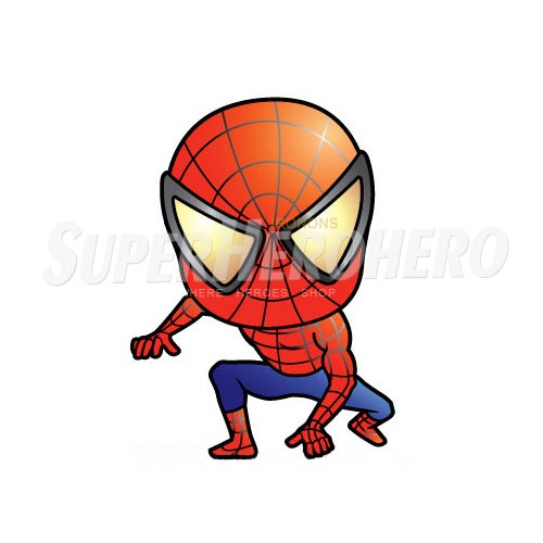 Designs Spiderman Iron on Transfers (Wall & Car Stickers) No.4600