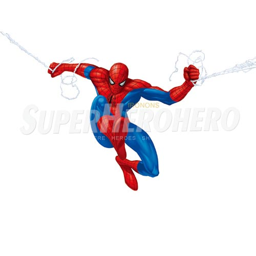 Designs Spiderman Iron on Transfers (Wall & Car Stickers) No.4618