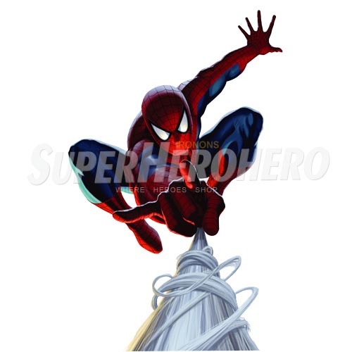 Designs Spiderman Iron on Transfers (Wall & Car Stickers) No.4626