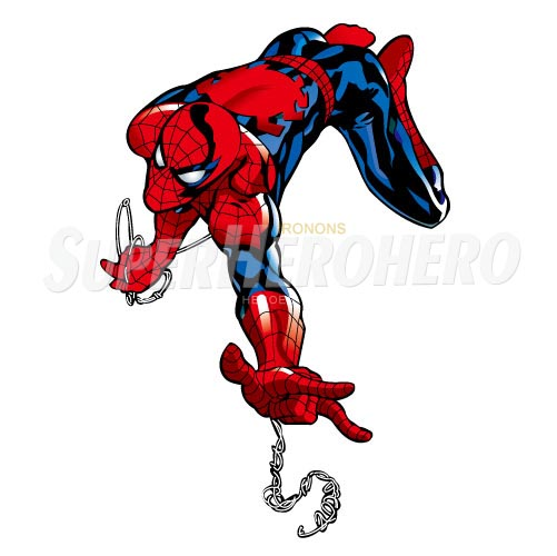 Designs Spiderman Iron on Transfers (Wall & Car Stickers) No.4628