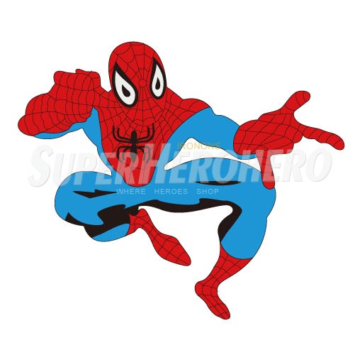 Designs Spiderman Iron on Transfers (Wall & Car Stickers) No.4629