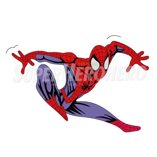 Designs Spiderman Iron on Transfers (Wall & Car Stickers) No.4630