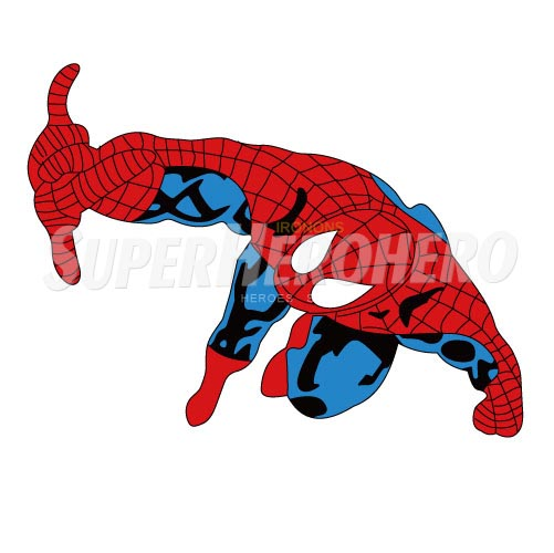 Designs Spiderman Iron on Transfers (Wall & Car Stickers) No.4631