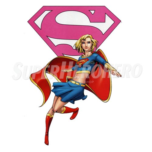 Custom Supergirl Iron on Transfers (Wall & Car Stickers) No.7708