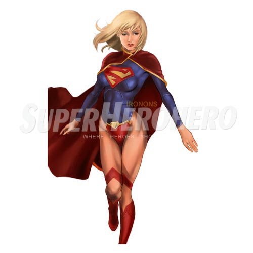 Custom Supergirl Iron on Transfers (Wall & Car Stickers) No.7714