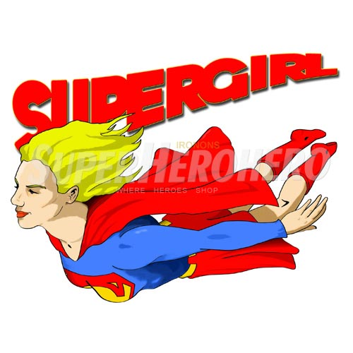 Custom Supergirl Iron on Transfers (Wall & Car Stickers) No.7715