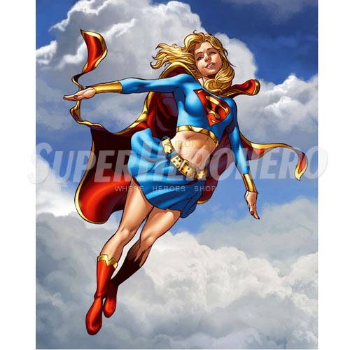 Custom Supergirl Iron on Transfers (Wall & Car Stickers) No.7721