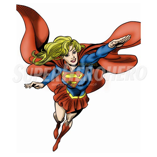 Custom Supergirl Iron on Transfers (Wall & Car Stickers) No.7722