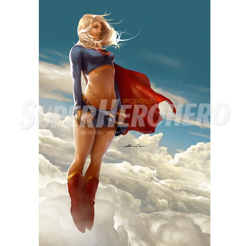 Custom Supergirl Iron on Transfers (Wall & Car Stickers) No.7723