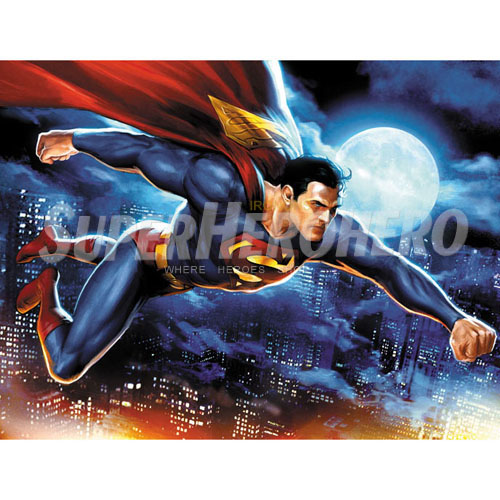 Designs Superman Iron on Transfers (Wall & Car Stickers) No.4647