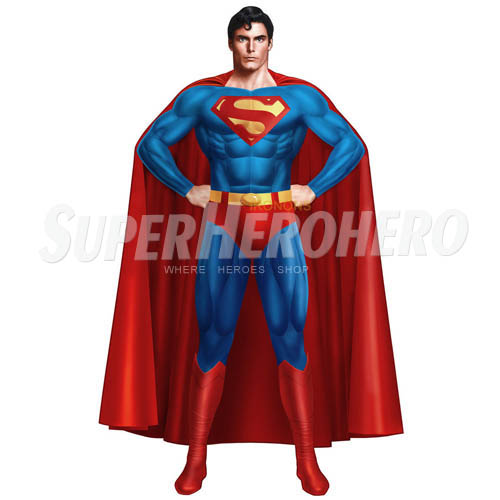 Designs Superman Iron on Transfers (Wall & Car Stickers) No.4648